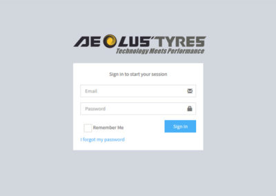 Inventory and Sales Management System | for Aeolus Tyres