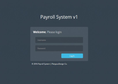 Payroll System | for Security Agency